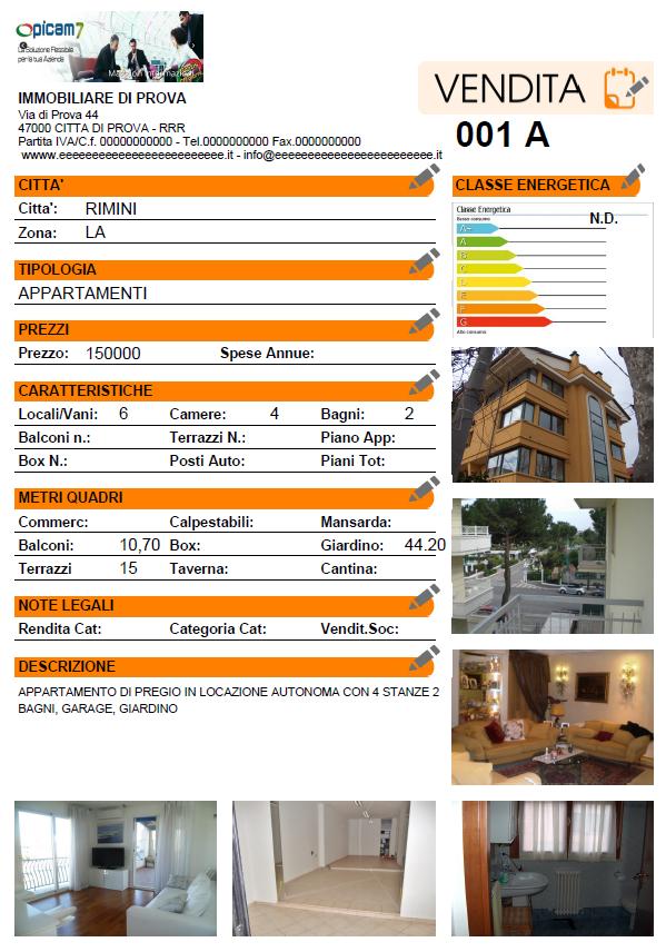Agenzia immobiliare - Immobili categoria a1 ...